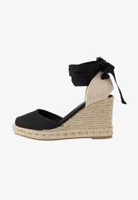 New Look - TRINIDAD - High heeled sandals - black - 1