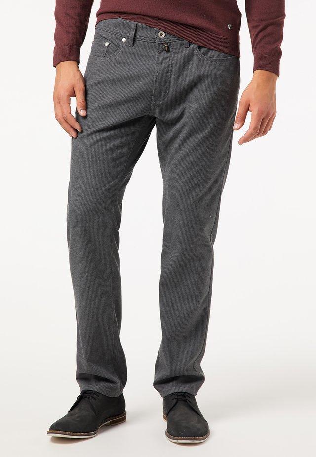 LYON VOYAGE - Pantalon classique - grau