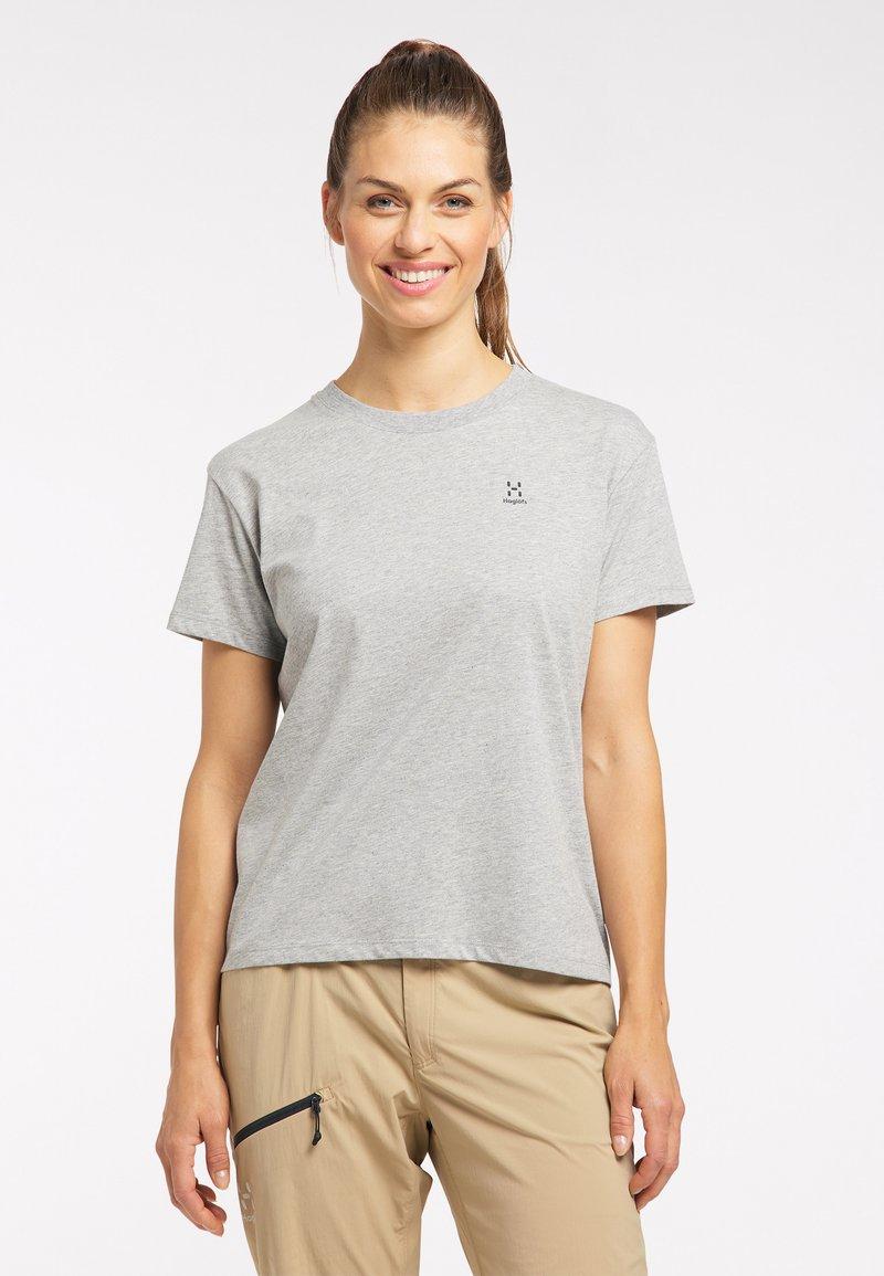 Haglöfs - Print T-shirt - grey melange
