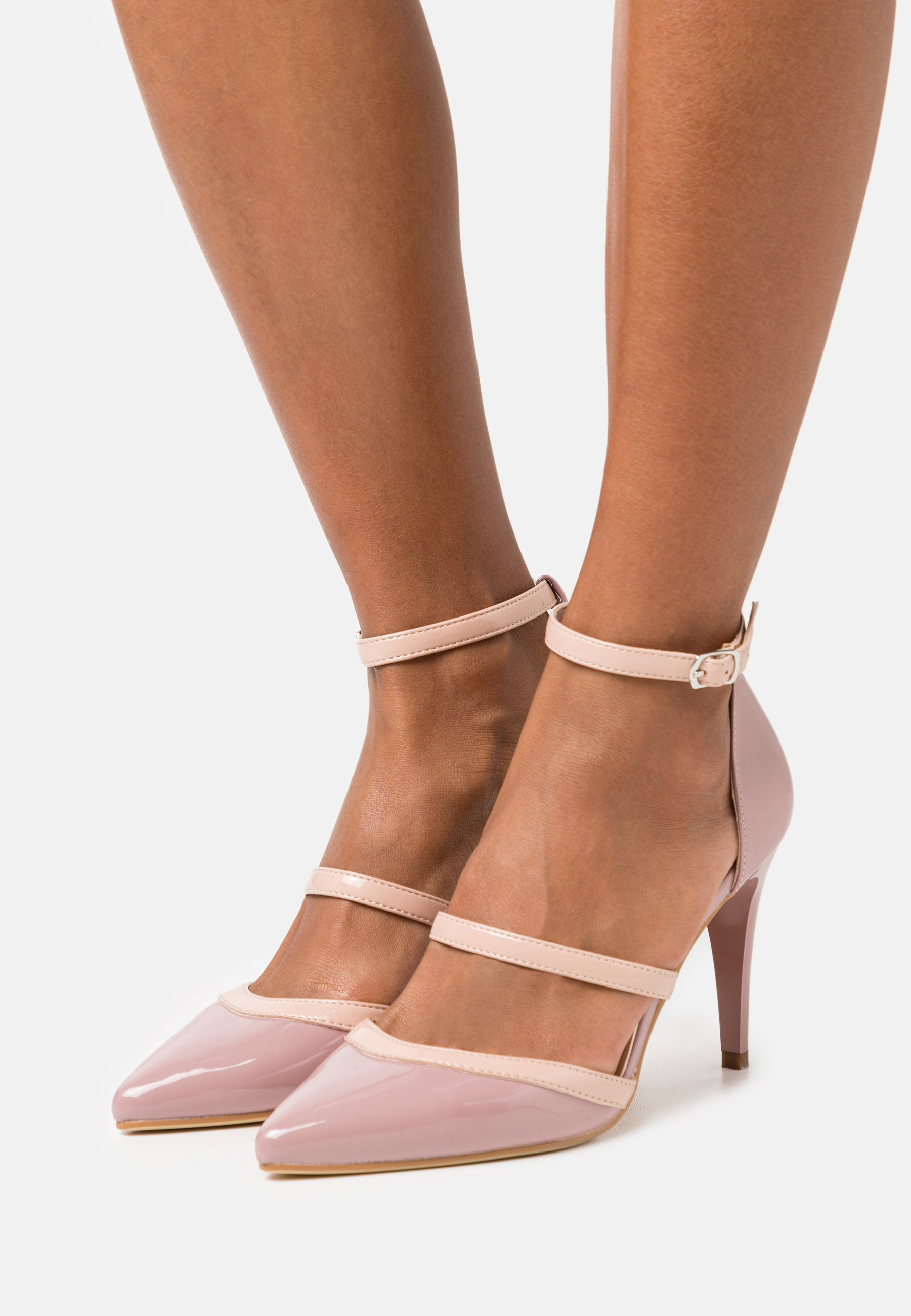 Damen High Heel Pumps - lilac