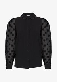 Fransa - FRNABURN - Button-down blouse - black - 5