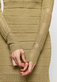 Hervé Léger - GOWN - Occasion wear - gold-coloured - 6