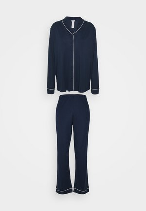 NATURAL COMFORT SET - Pyjamas - deep navy