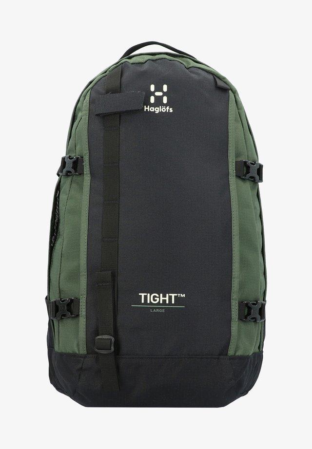 TIGHT - Rucksack - true black/fjell green