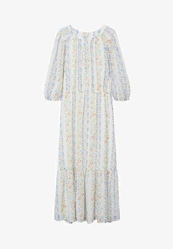 Maxi-jurk - cremeweiß