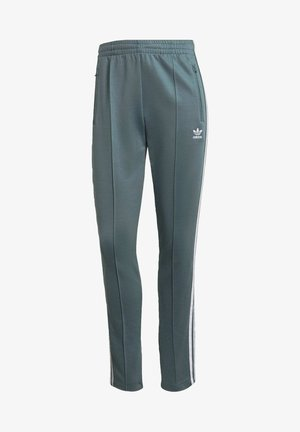 PANTS - Tracksuit bottoms - hazy emerald