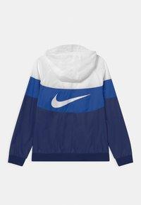 Nike Sportswear - Training jacket - white/game royal/blue void - 1