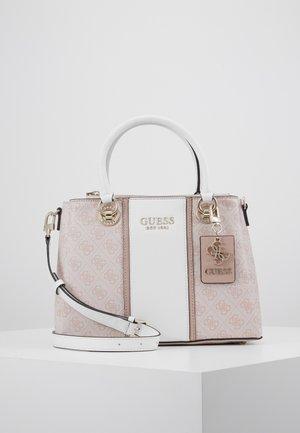 CATHLEEN COMPARTMENT  - Handbag - blush