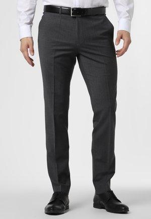 HESTEN - Hlače za moške obleke - anthrazit