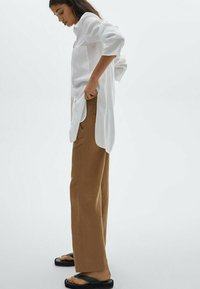Massimo Dutti - Trousers - brown - 1