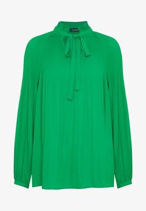 DRAPEY - Blouse - hedge green