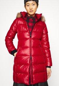 Calvin Klein - ESSENTIAL REAL COAT - Down coat - tango red - 5