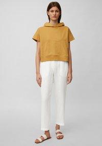 Marc O'Polo - Trousers - white linen - 1