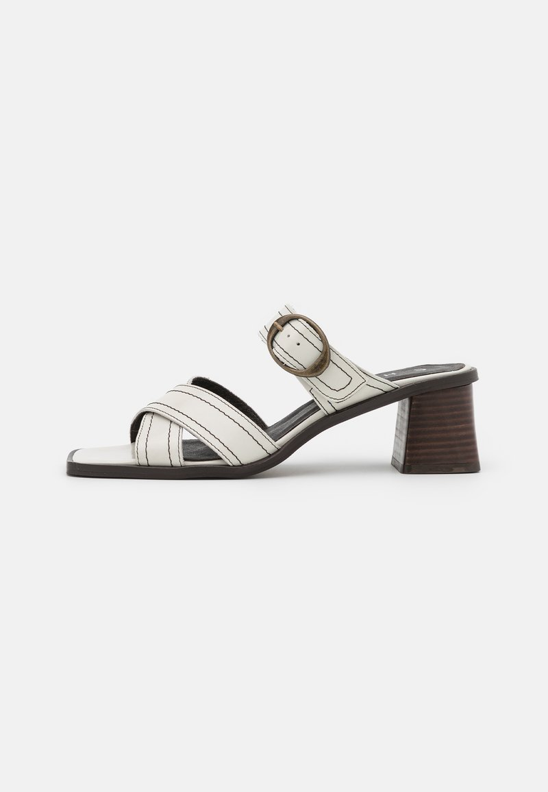 Chio - Heeled mules - offwhite poncho