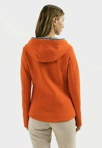 camel active - SCUBA - Zip-up hoodie - orange - 2