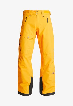 BREVENT PANTS - Pantaloni da neve - cadmium yellow