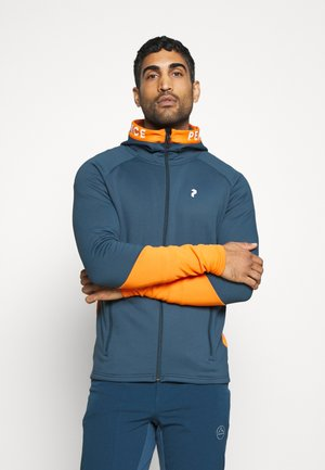 RIDER ZIP HOOD - veste en sweat zippée - blue steel