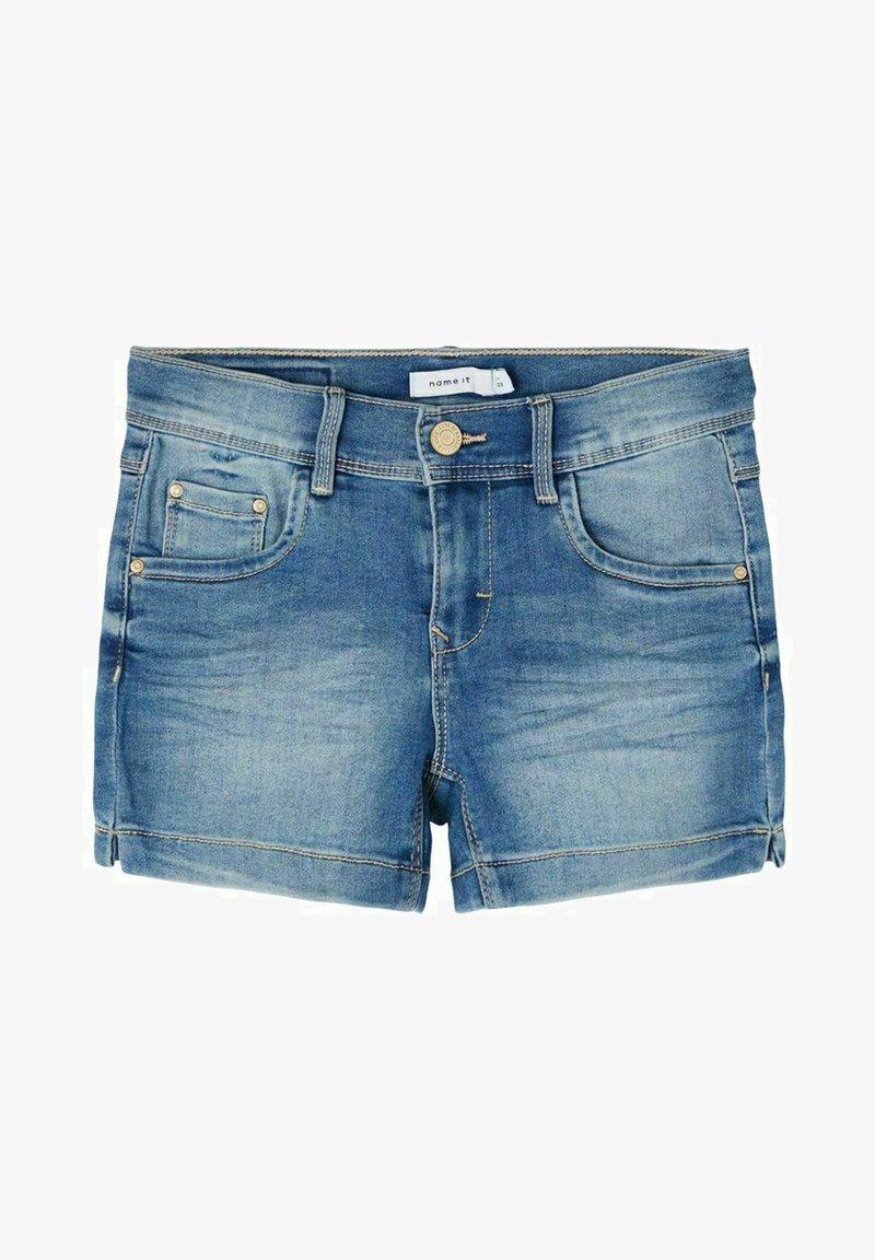 Name it - Shorts vaqueros - light blue denim