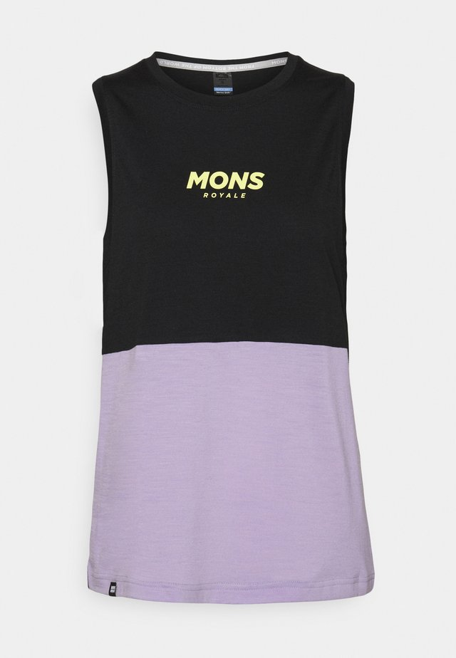 TARN FREERIDE TANK - Top - lilac/black