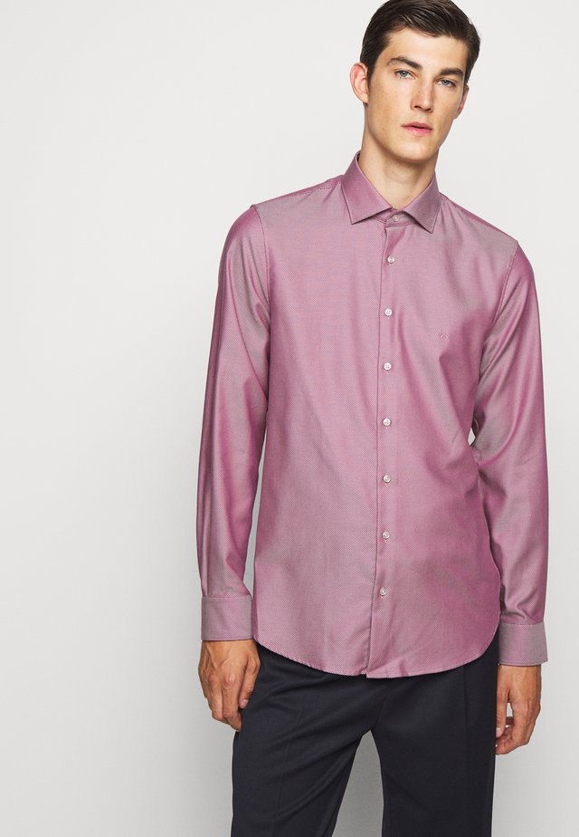 2 TONE MODERN - Zakelijk overhemd - amaranth