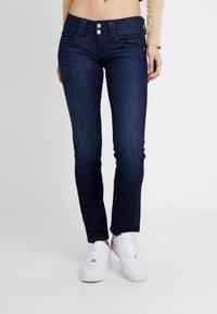 Pepe Jeans - VENUS - Straight leg jeans - dark-blue denim - 0