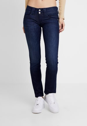VENUS - Straight leg jeans - dark-blue denim