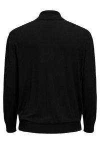 Jack & Jones - JJEEMIL ROLL NECK - Sweatshirt - black - 1