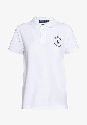 FLAG CLASSIC FIT - Polo shirt - white