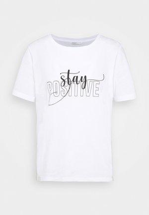 ONLKENDRA - Print T-shirt - white