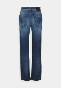 Dondup - PANTALONE MABEL - Flared Jeans - blue denim - 1