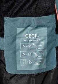 Cecil - MIT STEPPUNG - Winter coat - grün - 5