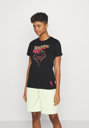 T-SILY-K1 - T-shirt con stampa - black