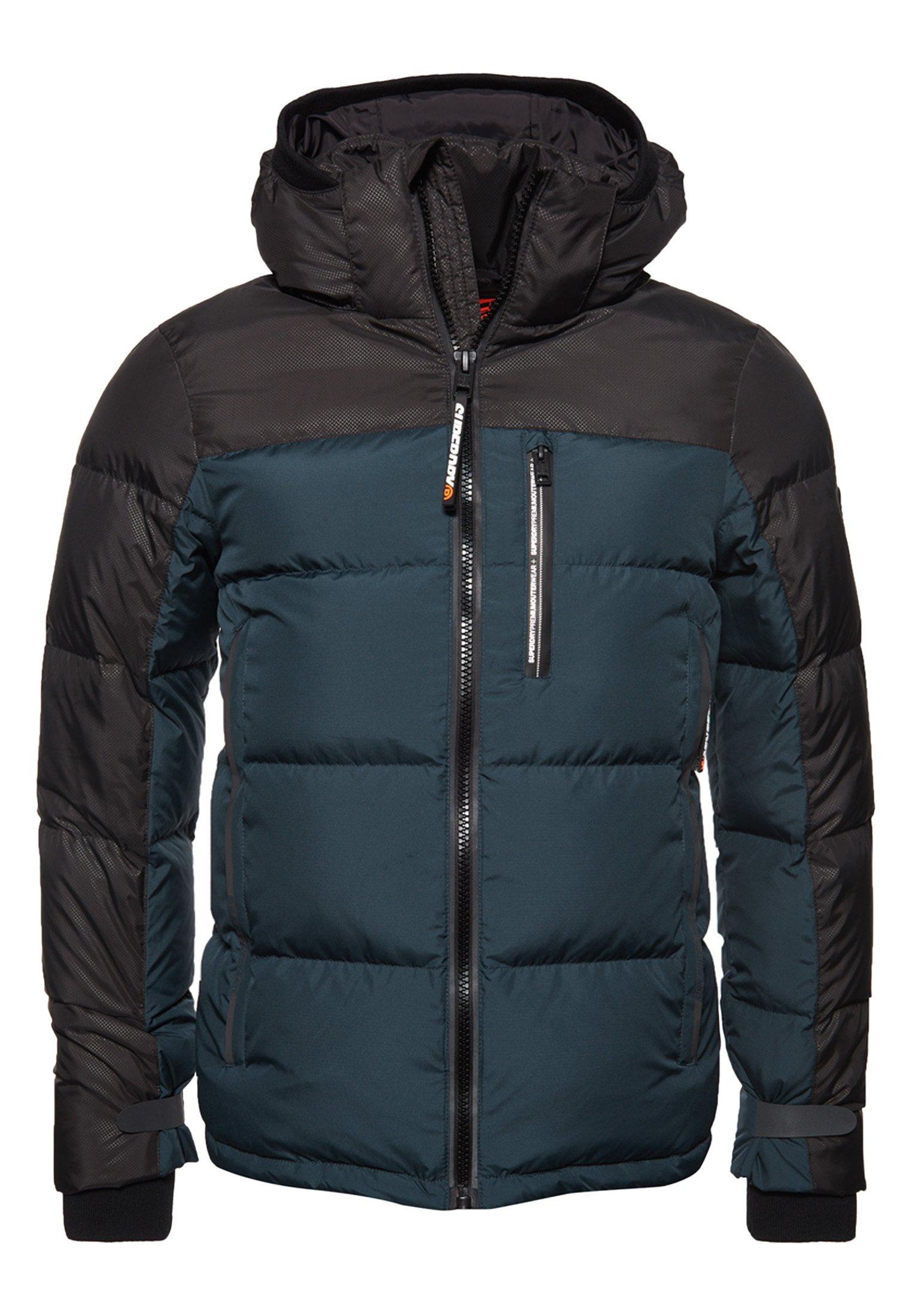Gewatteerde jas dark blue