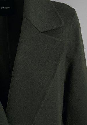 CLAIRENE LUXE NEW - Classic coat - hunter