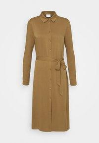 VIDANIA BELT DRESS - Shirt dress - butternut