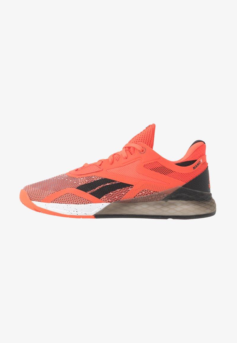 Reebok - NANO X - Sports shoes - vivdor/black/white