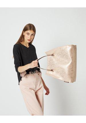 Handbag - cipria/avorio
