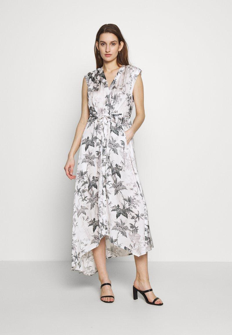 AllSaints - TATE EVOLUTION DRESS - Kjole - chalk white