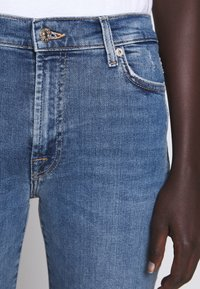 7 for all mankind - CROP - Jeans Skinny Fit - mid blue - 5