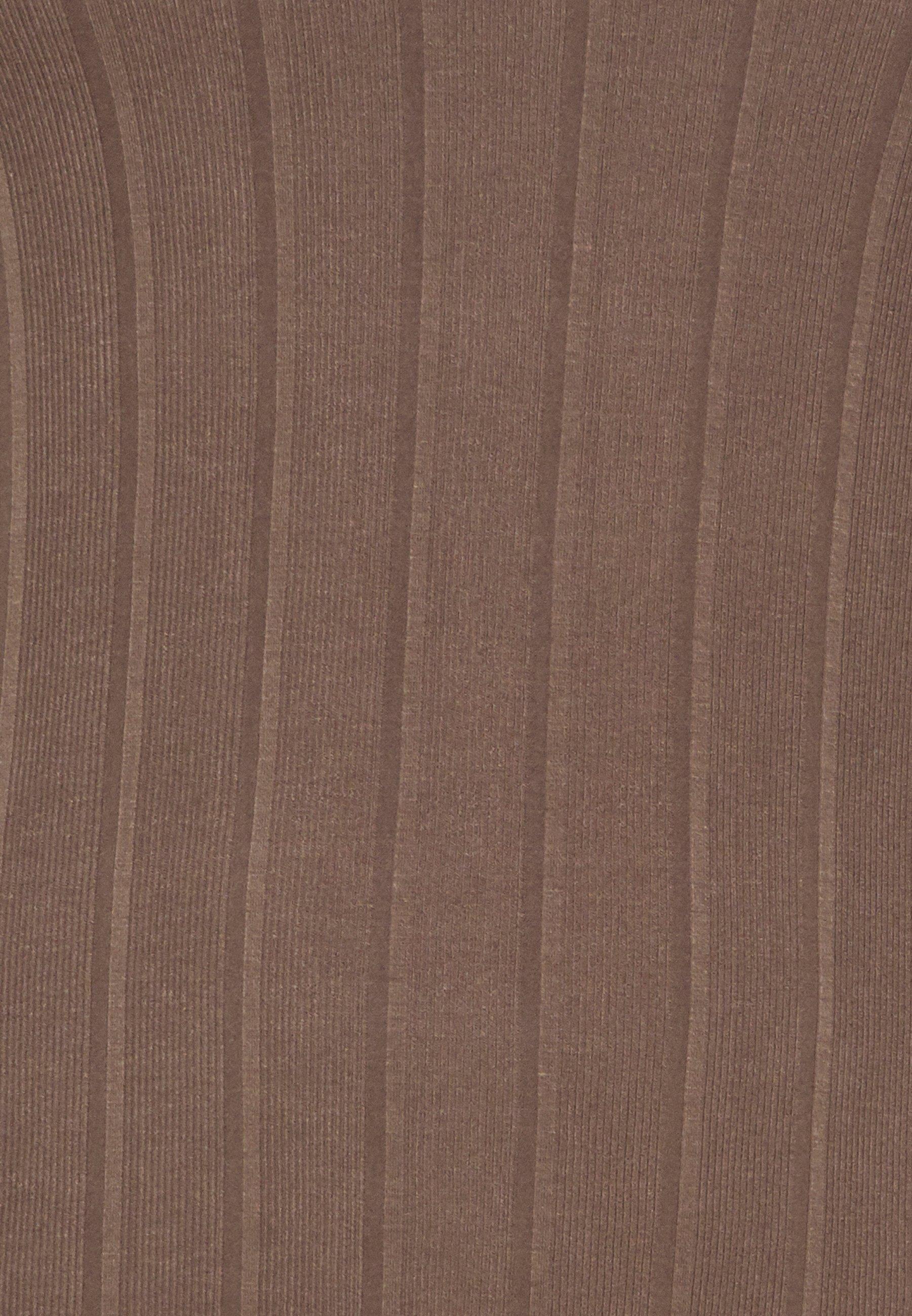 Pieces Curve Pcsaorem Roll Neck - Topper Langermet Grey/grå