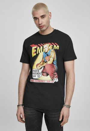 EMINEM ANGER COMIC  - Print T-shirt - black
