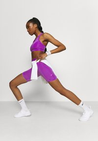 Nike Performance - ONE LUXE - Tights - wild berry/white - 1