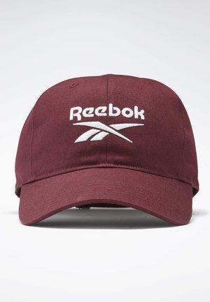 ACTIVE FOUNDATION BADGE CAP - Lippalakki - burgundy