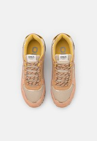 ONLY SHOES - ONLSONIA - Baskets basses - yellow - 5