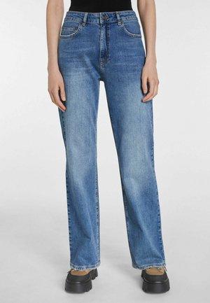FLARED FIT - Straight leg jeans - blue denim