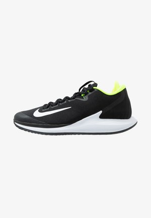 COURT AIR ZOOM - Allcourt tennissko - black/white/volt