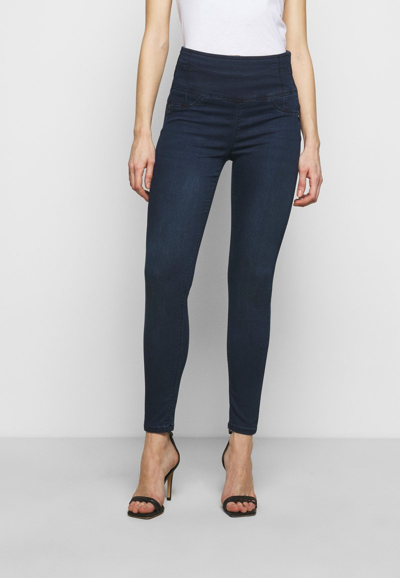 Patrizia Pepe - PANTALONI TROUSERS - Jeans Skinny Fit - washed dark blue