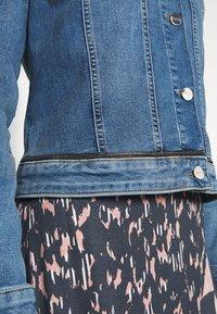comma - JACKET - Denim jacket - blue denim stretch - 4