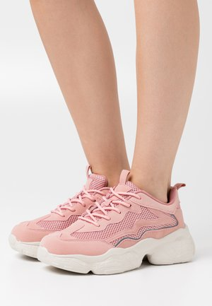 REFLECTIVE DETAILED TRAINERS - Sneakers - dusty pink