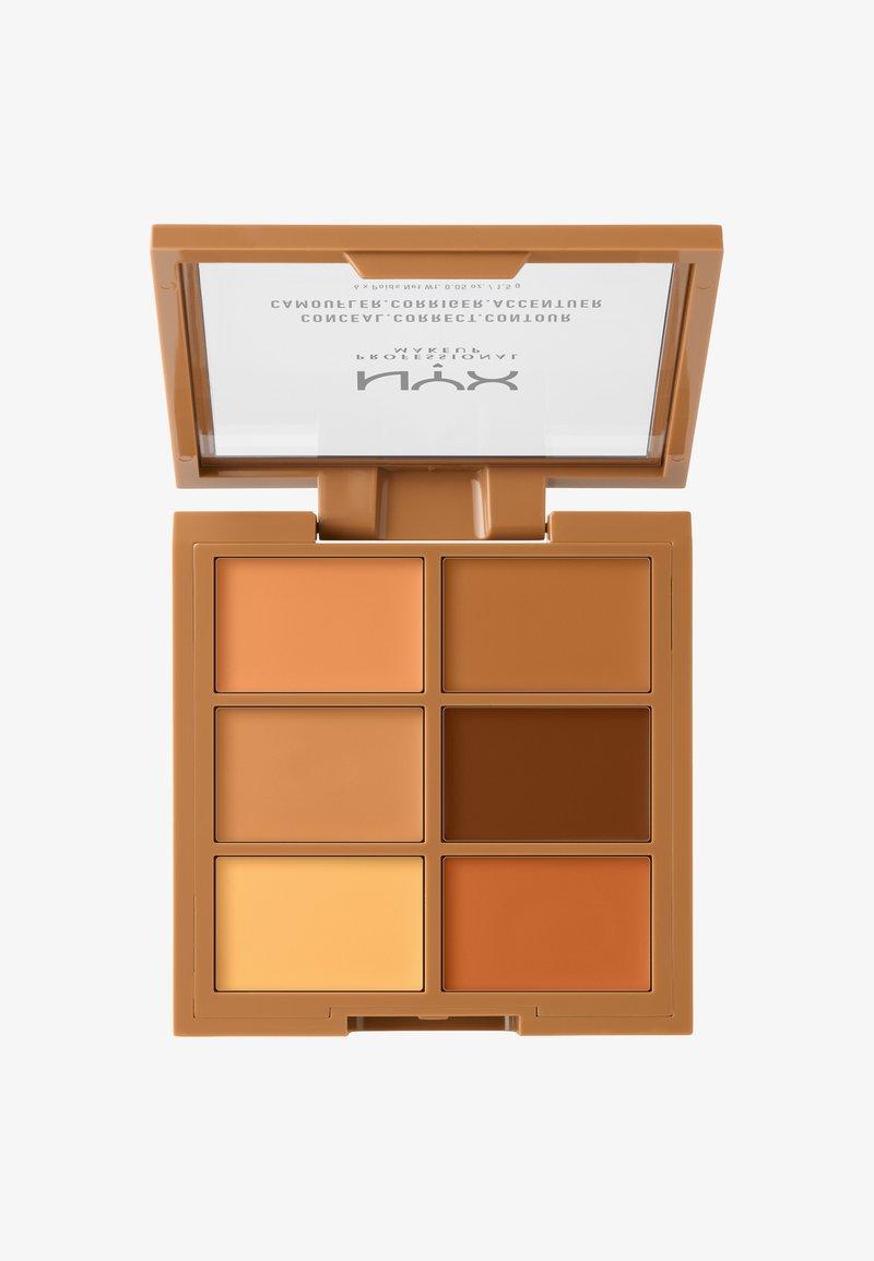 Nyx Professional Makeup - 3C PALETTE CONCEAL,CORRECT,CONTOUR - Face palette - 3 deep